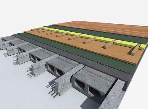 Építési Megoldások - Úsztatott padló akusztikai szigetelése